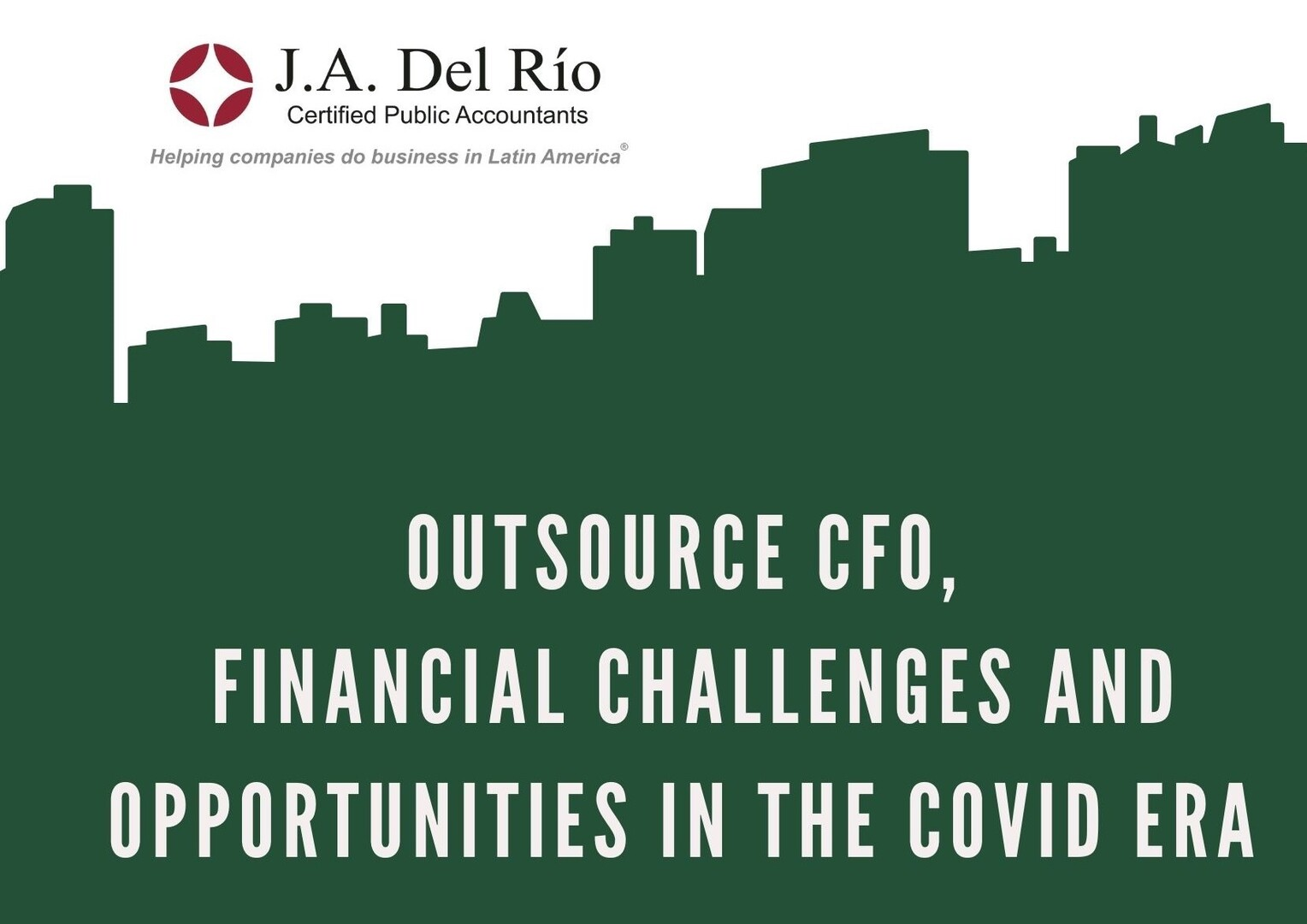 Webinar: Outsource CFO,  Financial challenges and opportunities in the COVID era